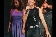 On Stage with Cliff Richard